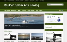 Boulder Community Rowing Website