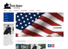 Vicki Baker Eventing Web